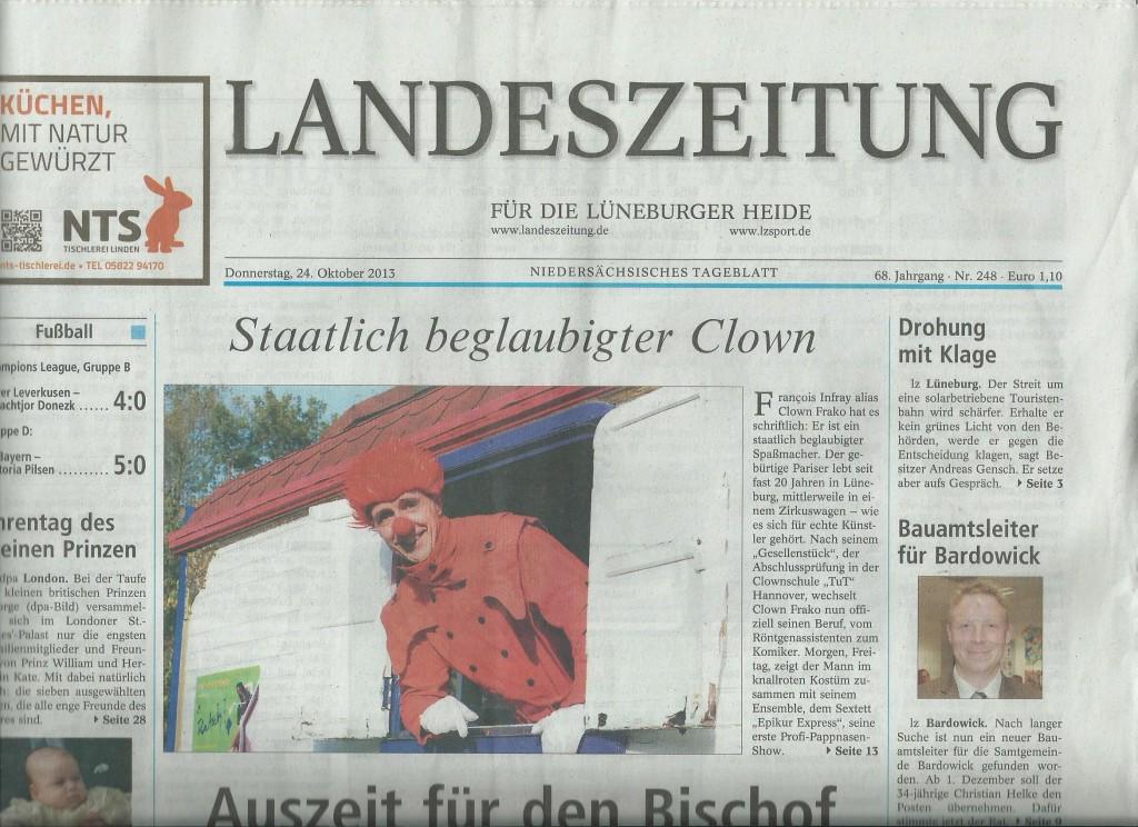 LZ Rote Clown
